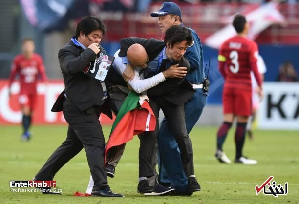عکس/ برخورد با جیمی جامپ ایرانی در بازی کاشیما و پرسپولیس - 5