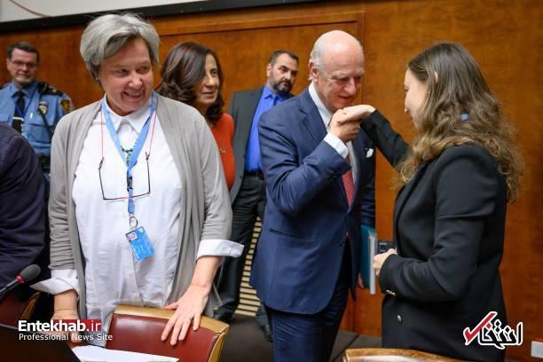 تصاویر : ظریف، لاوروف، چاووش اوغلو و دیمیستورا در ژنو - 20