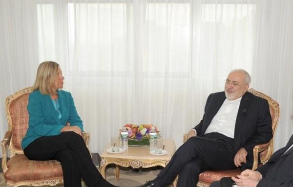موگرينی در دیدار با ظریف: راهحلهای اروپا برای تامين خواسته ايران در مراحل نهایی است - 0