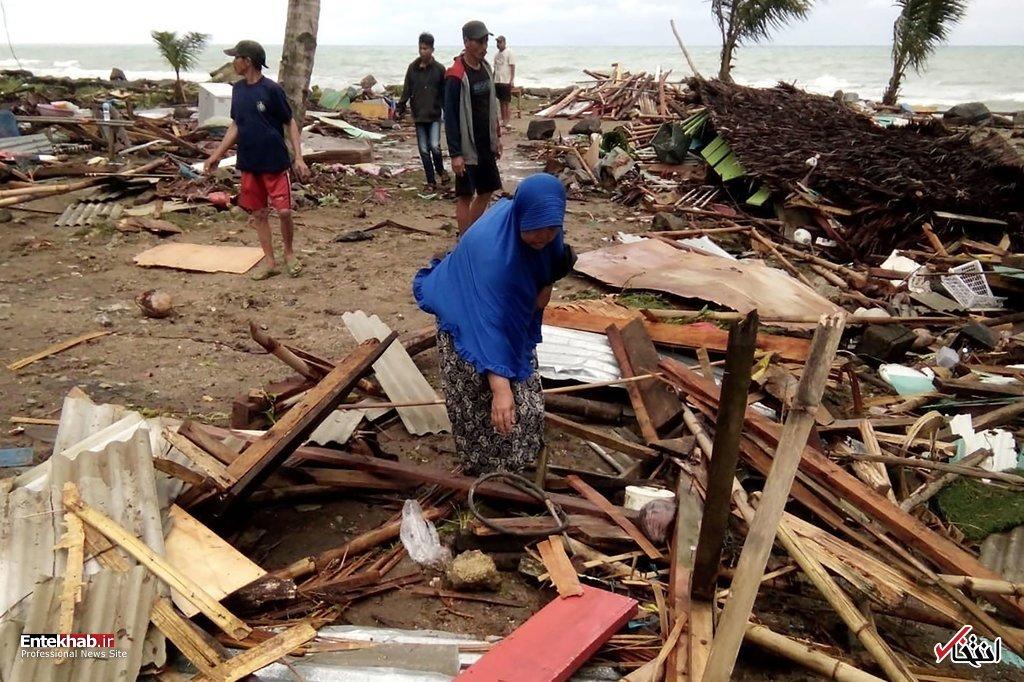 تصاویر : سونامی مرگبار در اندونزی - 14