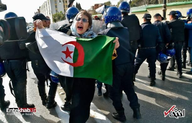 تصاویر: تظاهرات گسترده وکلا علیه عبدالعزیز بوتفلیقه - 18