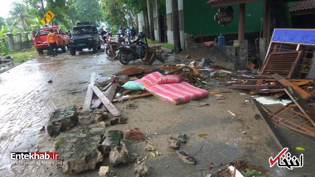 تصاویر : سونامی مرگبار در اندونزی - 8