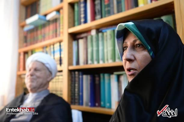 عکس/ مصاحبه فاطمه هاشمی با رسانه خارجی - 7