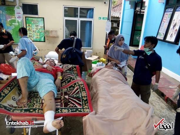 تصاویر : سونامی مرگبار در اندونزی - 3