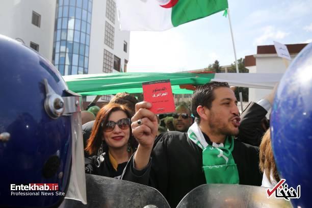 تصاویر: تظاهرات گسترده وکلا علیه عبدالعزیز بوتفلیقه - 13