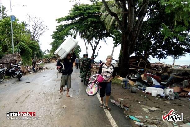 تصاویر : سونامی مرگبار در اندونزی - 10