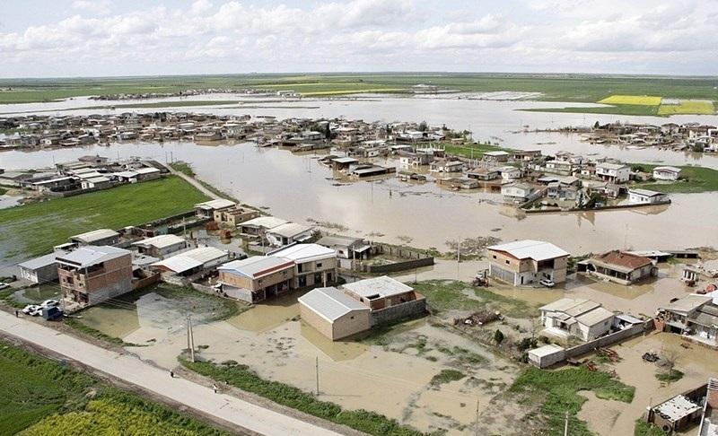 سیلاب حدود ۳۰ درصد گنبدکاووس را در برگرفت - 0