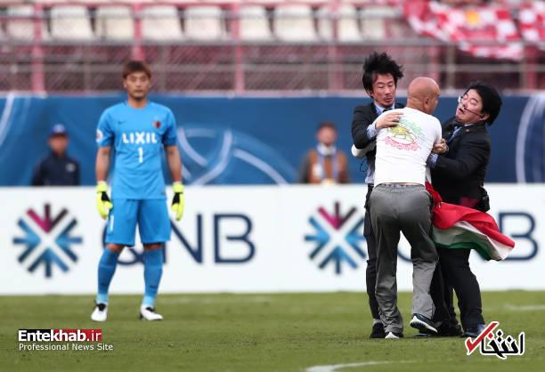 عکس/ برخورد با جیمی جامپ ایرانی در بازی کاشیما و پرسپولیس - 9