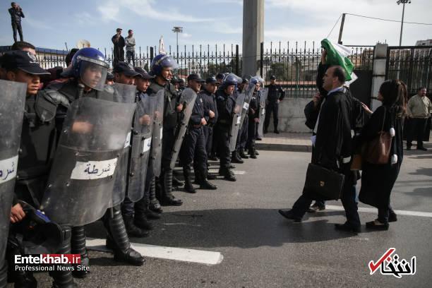 تصاویر: تظاهرات گسترده وکلا علیه عبدالعزیز بوتفلیقه - 6