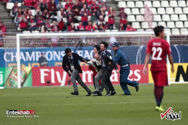 عکس/ برخورد با جیمی جامپ ایرانی در بازی کاشیما و پرسپولیس - 8