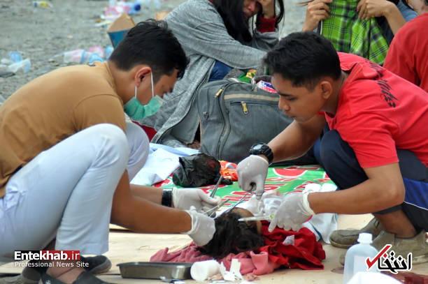عکس/ زلزله و سونامی مرگبار در اندونزی - 10