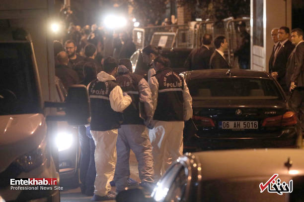 عکس/ تفتیش کنسولگری عربستان در استانبول توسط پلیس ترکیه - 9