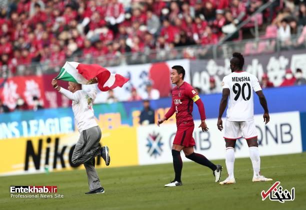 عکس/ برخورد با جیمی جامپ ایرانی در بازی کاشیما و پرسپولیس - 3