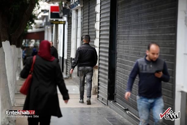تصاویر: اعتصاب سراسری در الجزایر