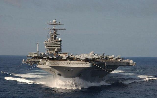 جزئیاتی از اقدامات کشتیهای سپاه در محدوده ناو آمریکایی استنیس - 0