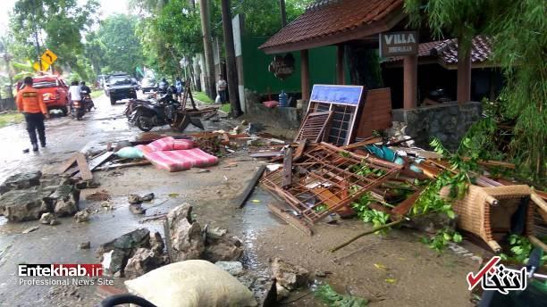 تصاویر : سونامی مرگبار در اندونزی - 6