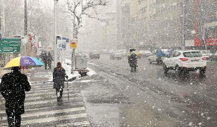 اخطاریه هواشناسی؛ بارش برف در تهران و ۱۰ استان دیگر - 0