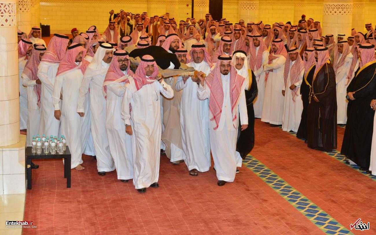 عکس/ تشییع پیکر شاهزاده خانم عربستانی - 3