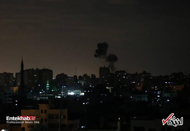 عکس/ حمله جنگندههای اسرائیل به نوار غزه - 7