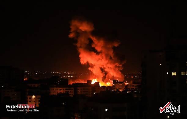 عکس/ حمله جنگندههای اسرائیل به نوار غزه - 2