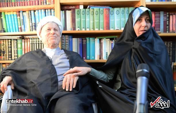 عکس/ مصاحبه فاطمه هاشمی با رسانه خارجی - 3