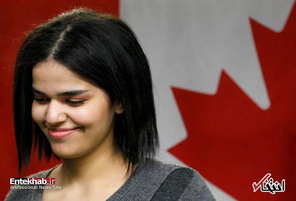عکس/ ظاهر متفاوت دختر عربستانی پس از پناهنده شدن - 6