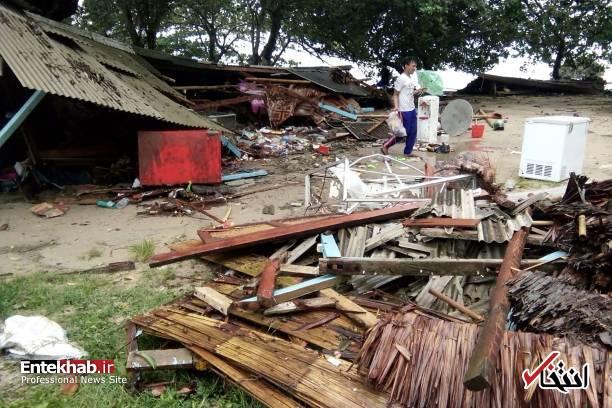 تصاویر : سونامی مرگبار در اندونزی - 13