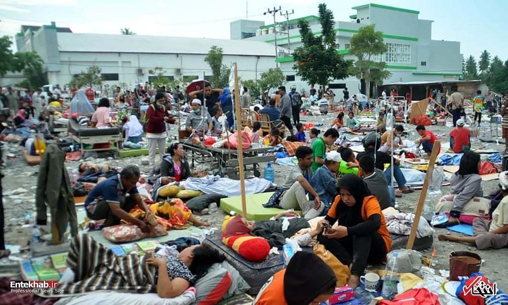 عکس/ زلزله و سونامی مرگبار در اندونزی - 4