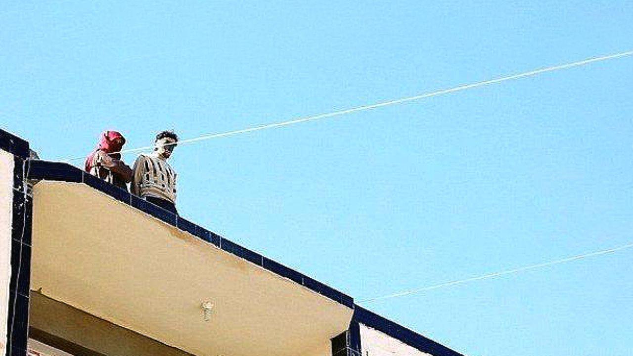 تخریب ساختمان اعدامهای داعش