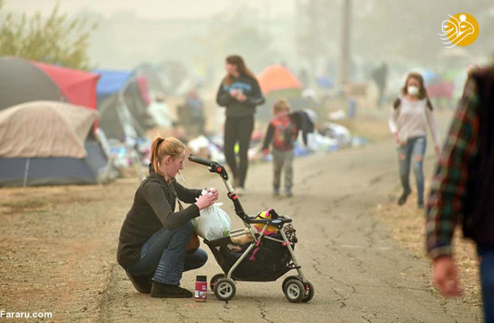 تصاویر جدید از آتشسوزی هولناک کالیفرنیا - 8