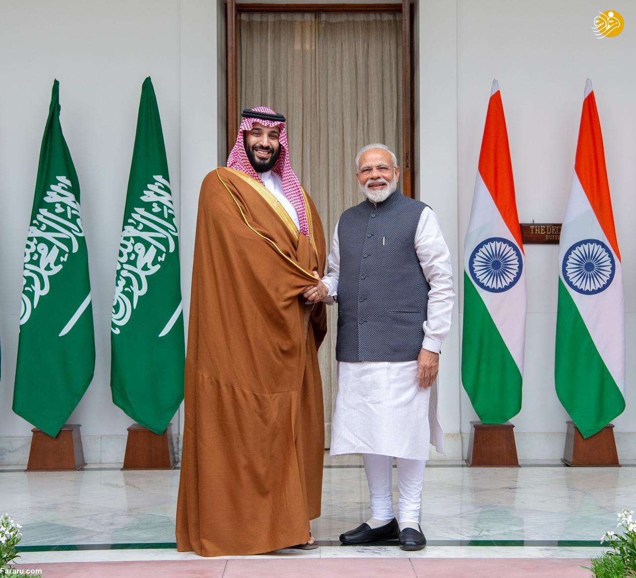 (تصاویر) استقبال خلاف عرف نخستوزیر هند از بنسلمان - 24