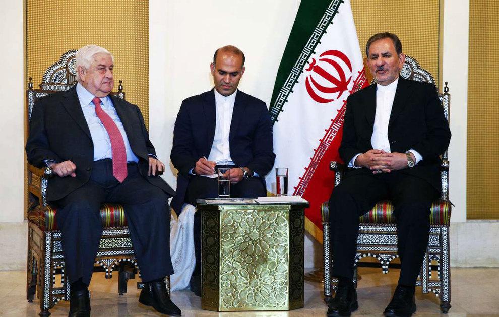 (تصاویر) دیدار جهانگیری با وزیر امور خارجه سوریه - 6