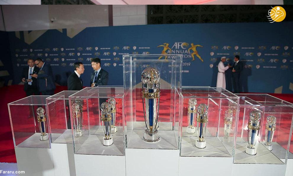 (تصاویر) مراسم انتخاب بهترینهای آسیا - 2