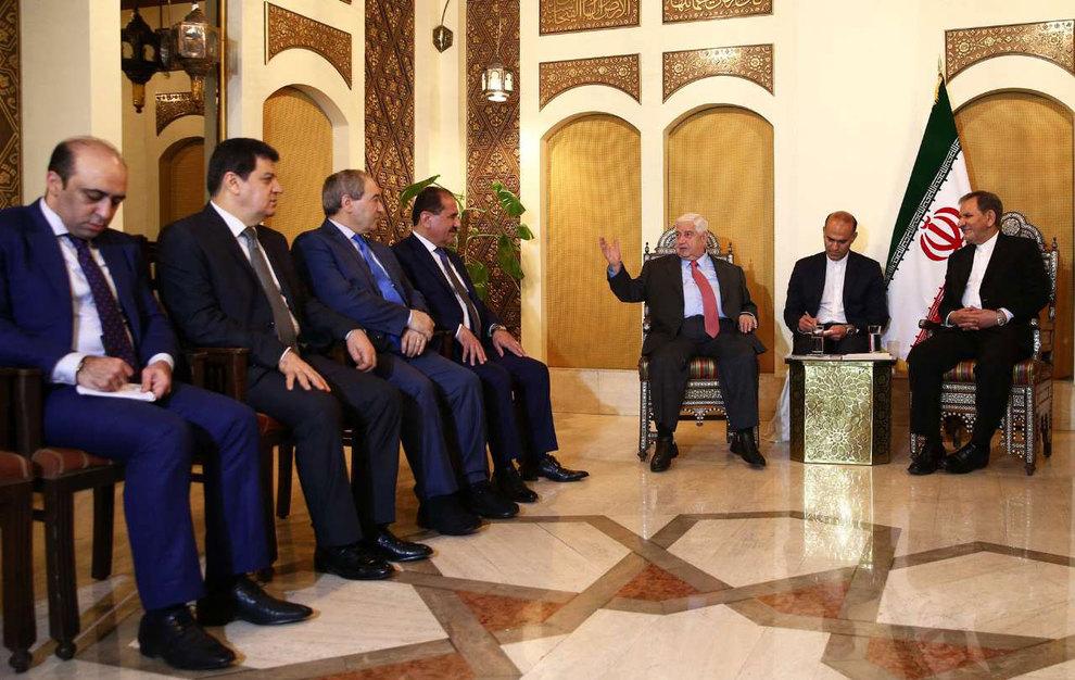 (تصاویر) دیدار جهانگیری با وزیر امور خارجه سوریه - 15