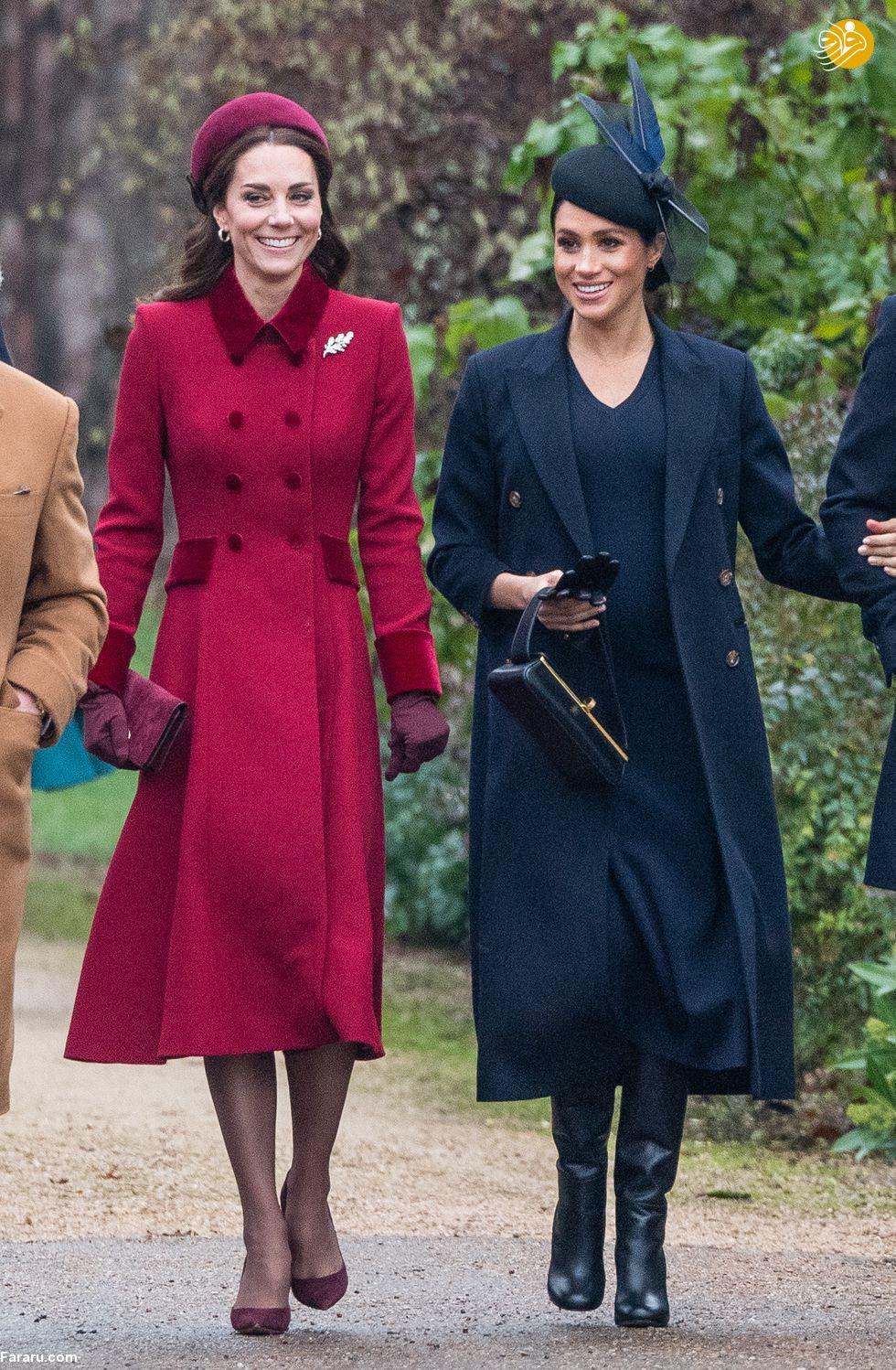 (تصاویر) پوشش خاندان سلطنتی بریتانیا در کریسمس - 17