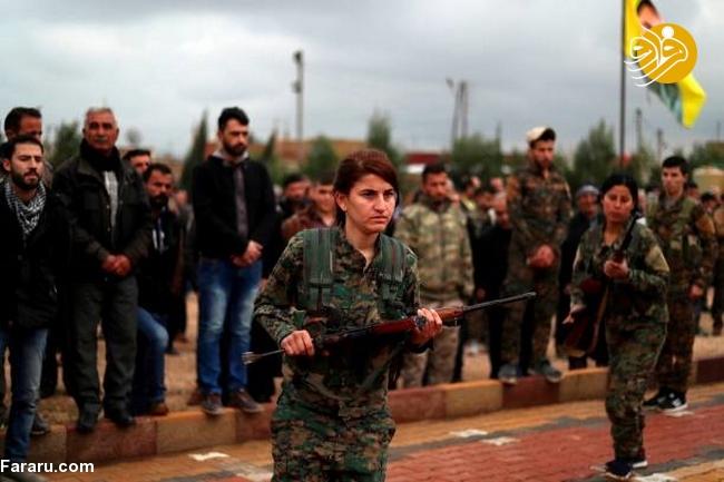 (تصاویر) تشییع دختر کشته شده در جنگ با داعش - 18