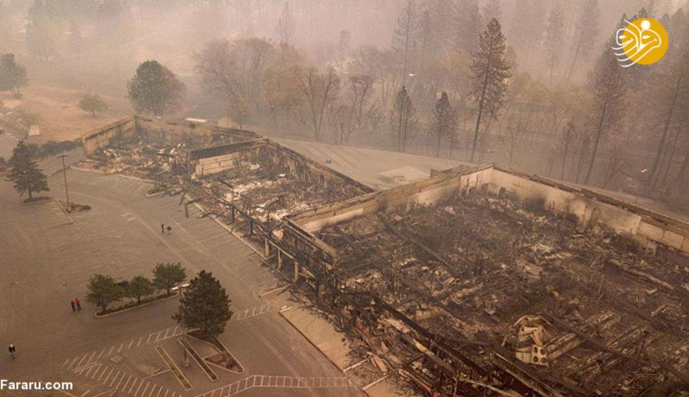 تصاویر جدید از آتشسوزی هولناک کالیفرنیا - 15