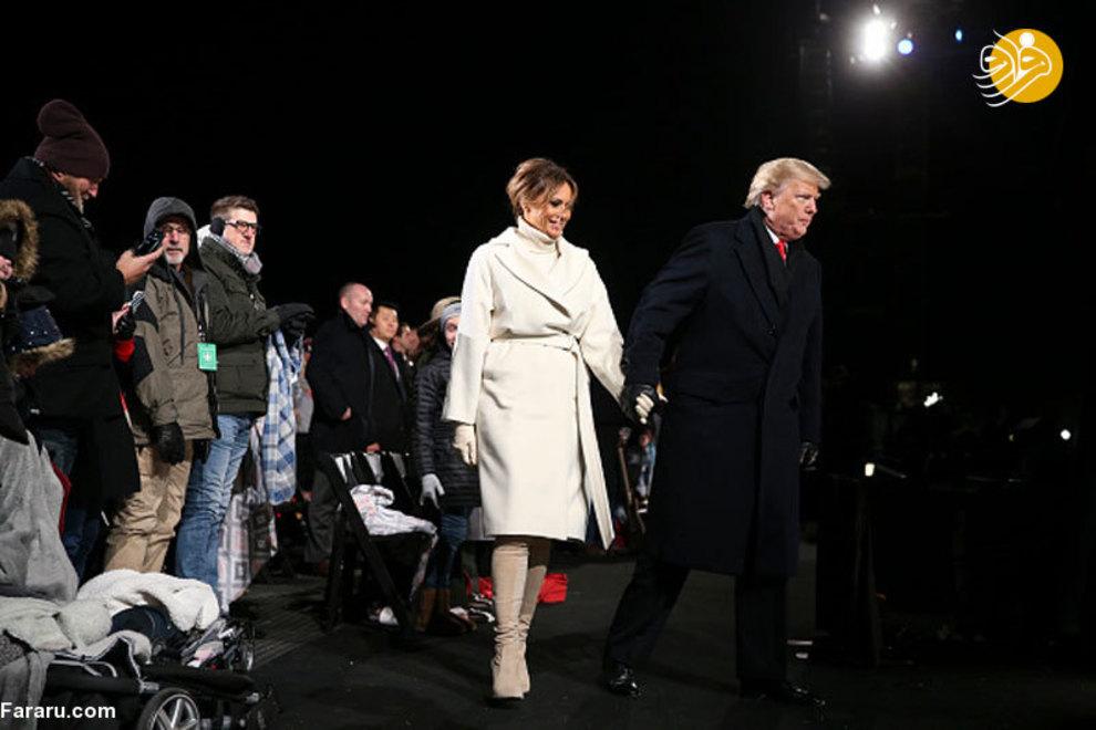 (تصاویر) اشکهای ترامپ در کنار ملانیا! - 4