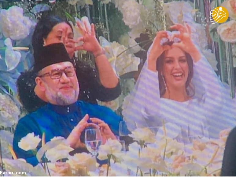 (تصاویر) ملکه زیبایی روس مسلمان شد و با پادشاه مالزی ازدواج کرد - 14
