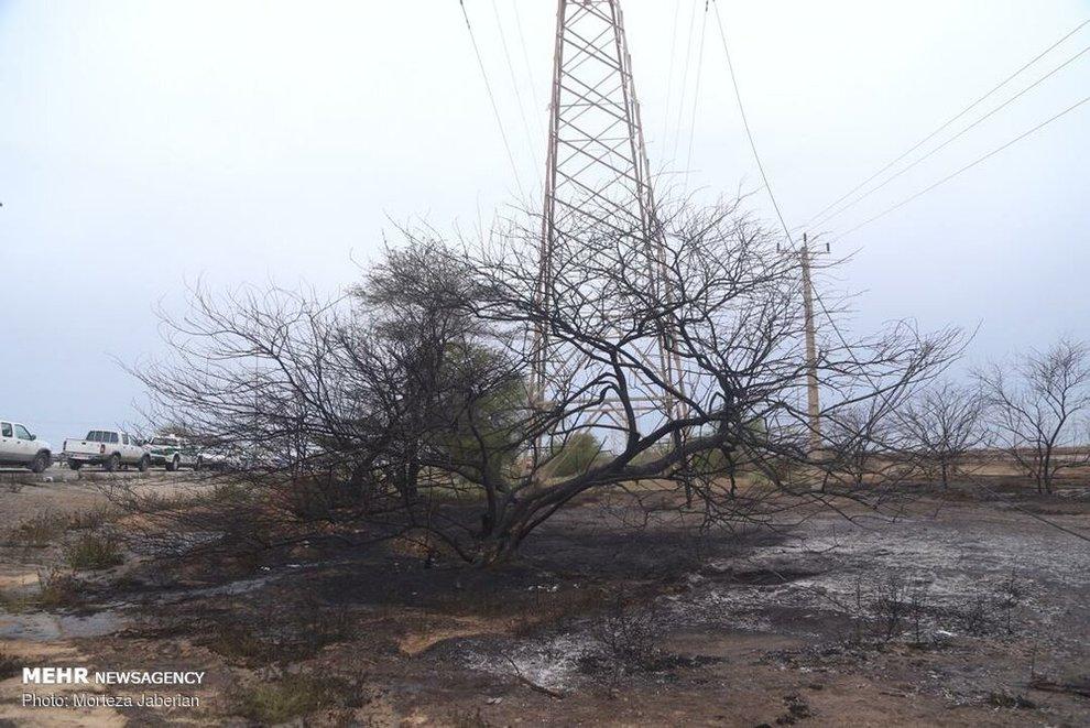 (تصاویر) انفجار خط لوله نفت اهواز به رامهرمز - 3