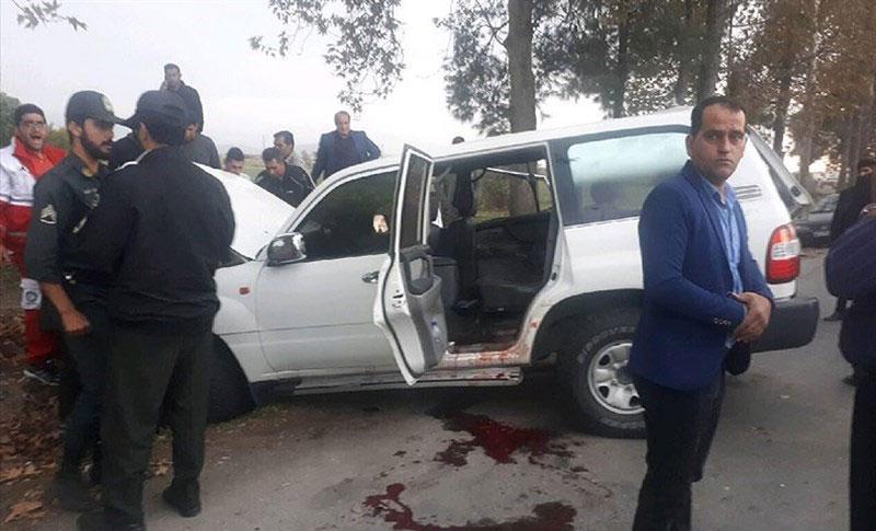 (تصاویر) تصادف شدید خودروی رئیس سازمان تامین اجتماعی - 9
