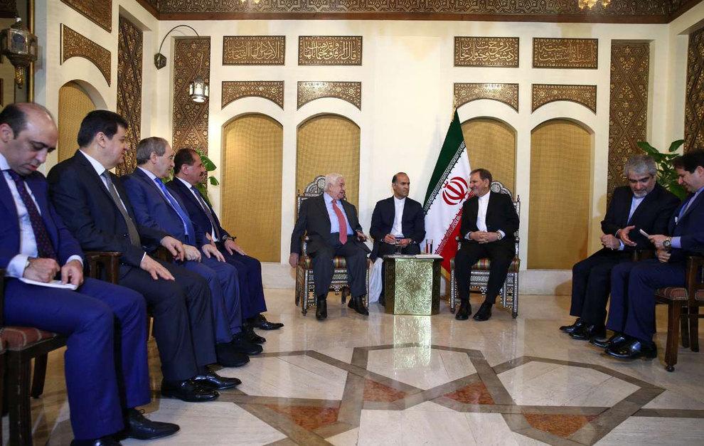 (تصاویر) دیدار جهانگیری با وزیر امور خارجه سوریه - 7