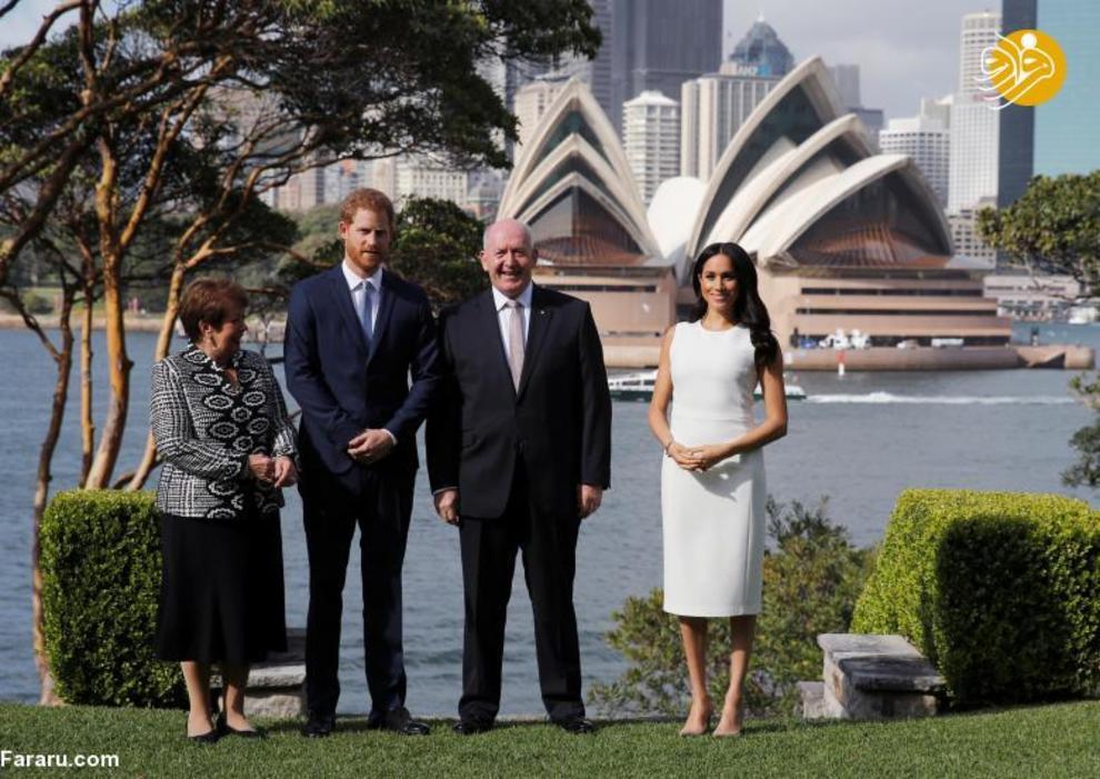 """(تصاویر) اعلام خبر بارداری """"مگان مارکل"""" در سفر به استرالیا - 4"""