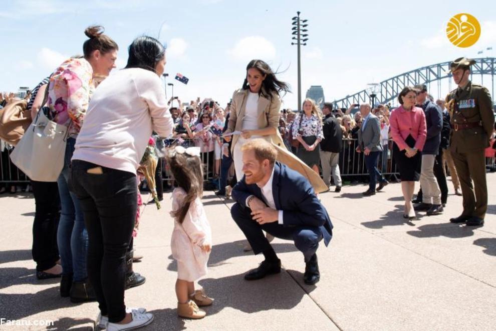 """(تصاویر) اعلام خبر بارداری """"مگان مارکل"""" در سفر به استرالیا - 13"""