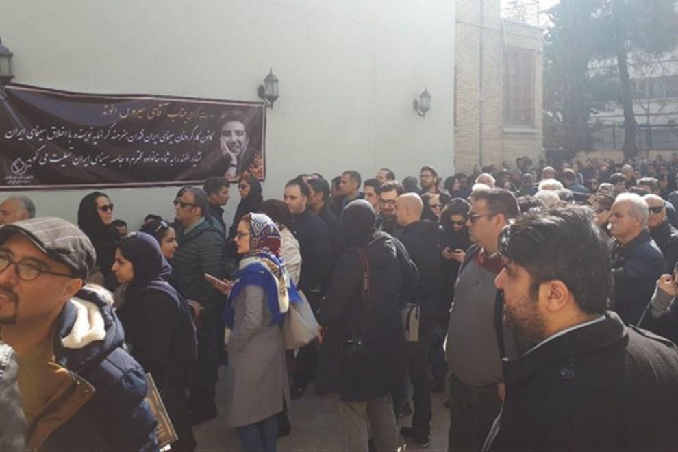 (تصاویر) چهرهها در مراسم تشییع خشایار الوند - 13