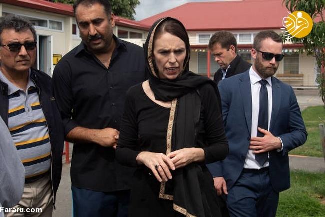 (تصاویر) نخست وزیر نیوزیلند باحجاب شد! - 15