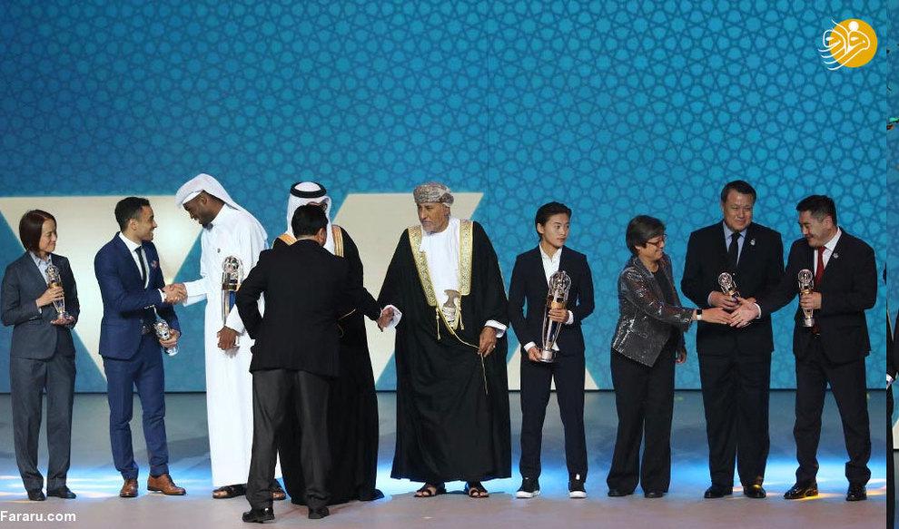 (تصاویر) مراسم انتخاب بهترینهای آسیا - 9