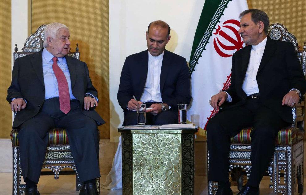 (تصاویر) دیدار جهانگیری با وزیر امور خارجه سوریه - 12