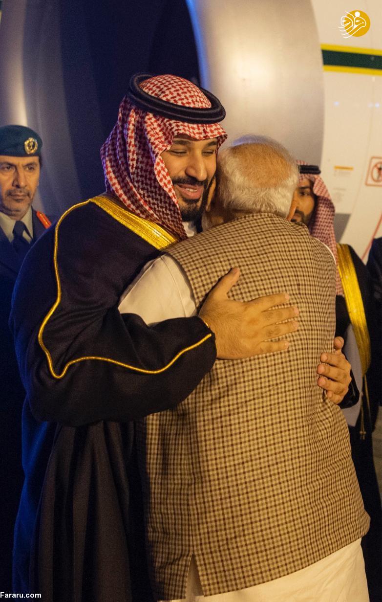 (تصاویر) استقبال خلاف عرف نخستوزیر هند از بنسلمان - 8