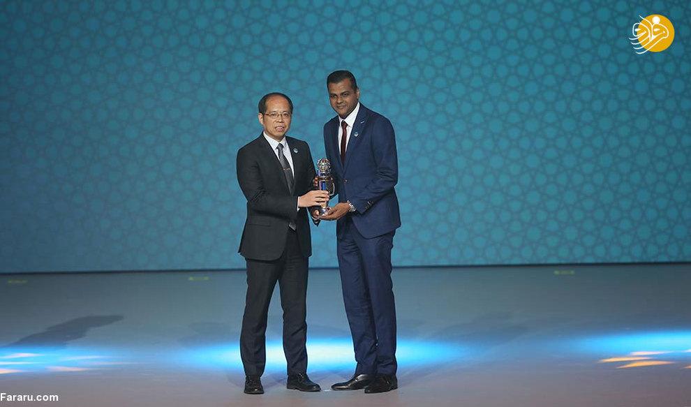 (تصاویر) مراسم انتخاب بهترینهای آسیا - 4